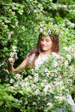 Spring girl Royalty Free Stock Photos