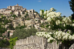 Spring in Gordes Stock Photos