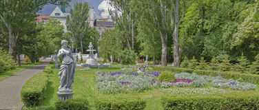 In the spring Gorky Park ,Rostov-on-Don, Russia royalty free stock image