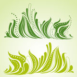 Spring grass decorative background Royalty Free Stock Images