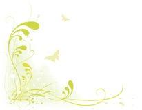 Spring in green Stock Image