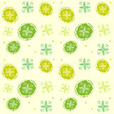 Spring Green. Abstract Floral Pattern. Seamless Background Vector Illustration. Royalty Free Stock Photography