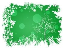 Spring green background Stock Photography