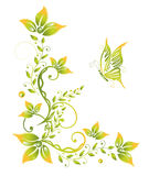 Spring, green, flowers Royalty Free Stock Photo