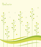 Spring Green Leaves. Abstract Background. Floral Background. Vector Illustration. Spring Patterns. Spring Green Leaves. Abstract Summer Background. Floral Stock Illustration