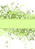 Spring green poster Royalty Free Stock Photos