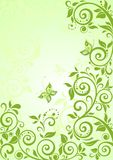 Spring green vertical banner Royalty Free Stock Photos