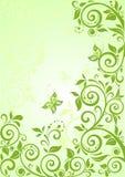 Spring green vertical banner Royalty Free Stock Photos