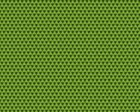 Spring 2017 Greenery abstract background pattern. Of three sided geometric shapes Stock Photo