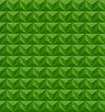 Spring 2107 Greenery Geometric Pattern Background. With a 3D effect Royalty Free Stock Image