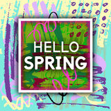 Spring Greeting. Stock Photography