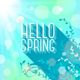 Spring greeting Royalty Free Stock Photography