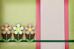 Spring greeting card Royalty Free Stock Images