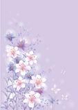 Spring greeting card stock illustration