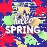 Spring Greeting Stock Photos
