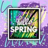 Spring Greeting. Royalty Free Stock Image
