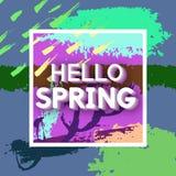 Spring Greeting Royalty Free Stock Photo