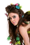 Spring hairstyle and makeup Stock Photos