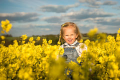 Spring happiness Royalty Free Stock Image