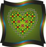 Spring heart Stock Photo