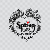 Spring is here Royalty Free Stock Photo