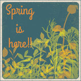 Spring is here!! Stock Photo