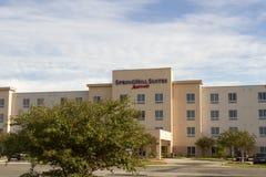 Spring Hill följen, ett hotell för Marriott märkeskedja Arkivbild