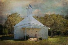 Spring Hill grande Baptist Church, Texas Country Foto de archivo