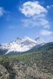 Spring in Himalaya mountains Royalty Free Stock Image