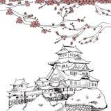 Spring Himeji Castle Stock Photos