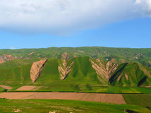 Spring in the Hissar valley. Near the town of Hissar Tajikistan Royalty Free Stock Images