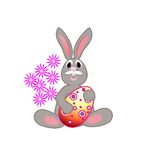 Spring holiday bunny Royalty Free Stock Photography