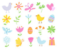 Spring Holiday Objects Stock Image