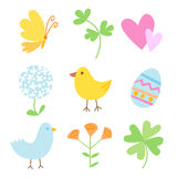Spring Holiday Objects Royalty Free Stock Photography