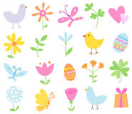 Spring Holiday Set Royalty Free Stock Photography