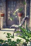 Spring home garden Royalty Free Stock Image