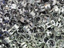 Spring hose clamp Royalty Free Stock Images