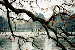 Spring. I took this shot at Hoan Kiem Lake, Hanoi, Vietnam Stock Image