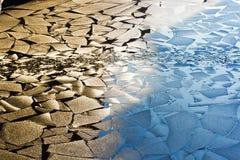 Spring Ice Drift Royalty Free Stock Image