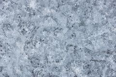Spring ice of a frozen Creek in the forest, the texture of the i. Ce Royalty Free Stock Photography