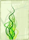 Spring illustration. Spring background illustration (vector images Stock Photo
