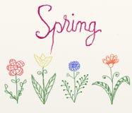 Spring illustration Stock Photos