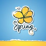 Spring illustration, vector eps 10 Royalty Free Stock Images