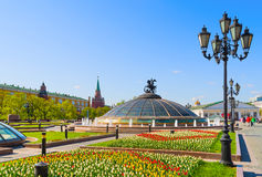 Spring In Moscow Royalty Free Stock Photos
