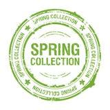Spring inzamelingszegel op Stock Fotografie