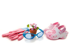 Spring for Kids Stock Photo