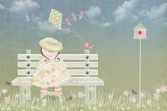 Spring Kite Stock Image