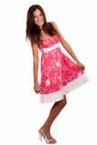 Spring kleding op Royalty-vrije Stock Foto's