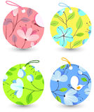 Spring labels Royalty Free Stock Photo