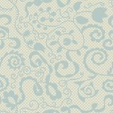 Spring lacy seamless floral pattern Royalty Free Stock Image